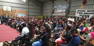 Lanfkenche reafirman lucha por el mar y defensa del territorio en Congreso realizado en Tirúa